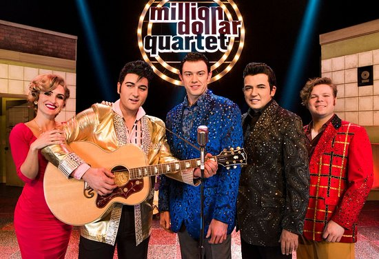"BOX OFFICE FOR ""MILLION DOLLAR QUARTET"" OPENS SATURDAY 4 DECEMBER"