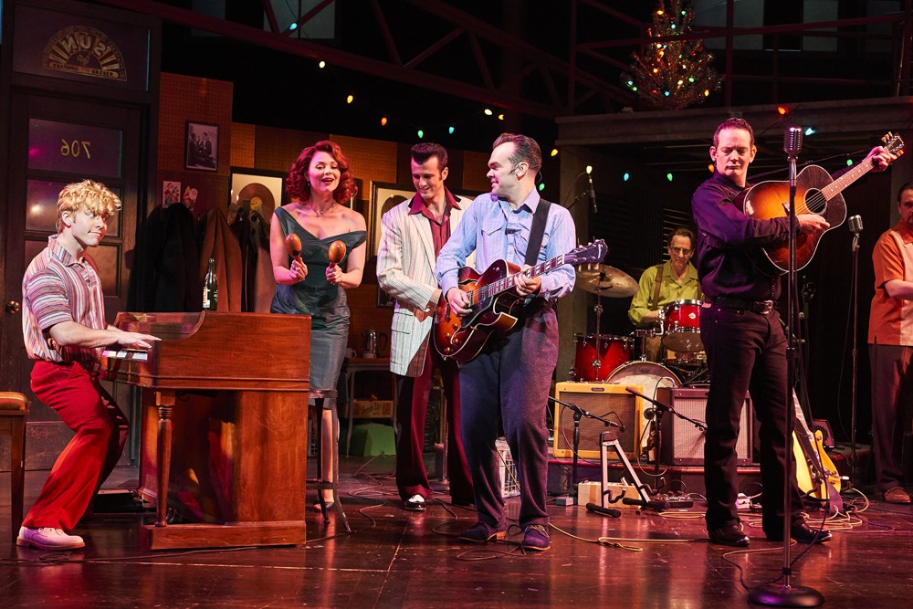 "THE NEW SMASH HIT MUSICAL ""MILLION DOLLAR QUARTET"" EXTENDS BOOKING TO SATURDAY 28 APRIL 2012"