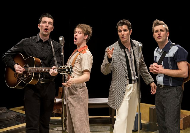 "FIRST LOOK AT ""MILLION DOLLAR QUARTET"" IN REHEARSAL – PICTURES RELEASED"